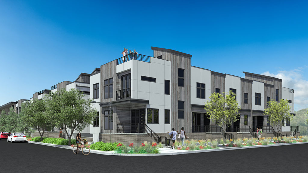 Park Hill Commons - Infill Development, Micro Apartments, Mixed Use, Multi-Family
