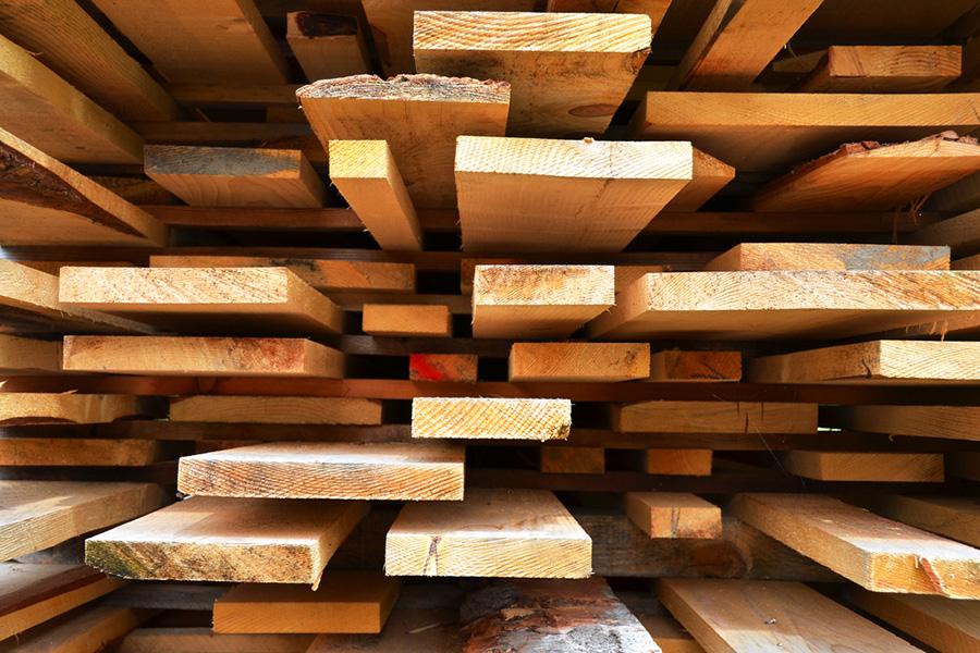 Real Estate development tips - wood planks