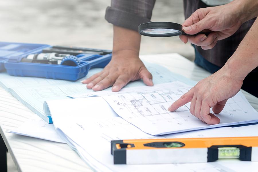 Real Estate development tips - construction plans